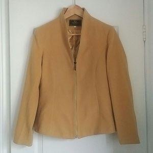 FENDI - vintage pure cashmere zipper jacket